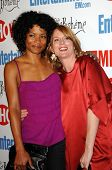 Rose Rollins and Laurel Holloman  at the farewell party for final season of 'The L Word'. Cafe La Bo
