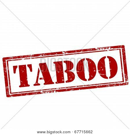 Taboo-stamp