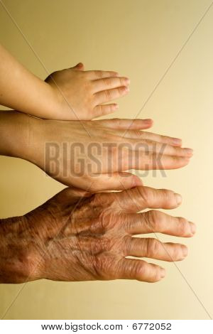 hands of generations