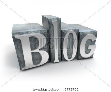 Blog In metaal