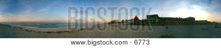 poster of Panama City Beach Panoramic