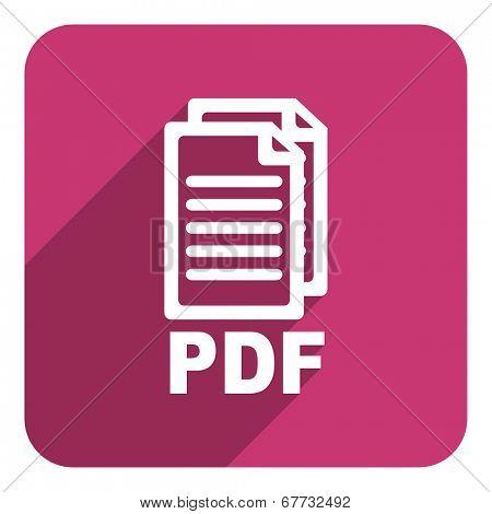 pdf flat icon
