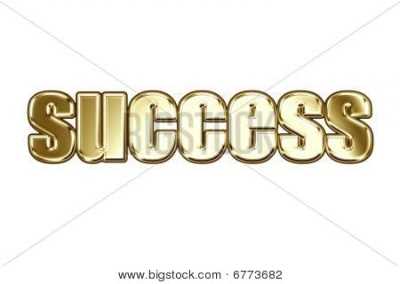 Word Success In Style Gold