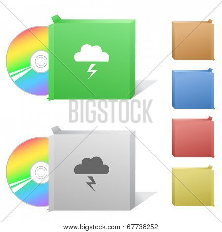 Storm. Box with compact disc.