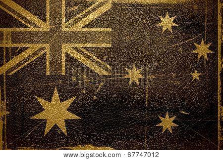 Australian flag vintage