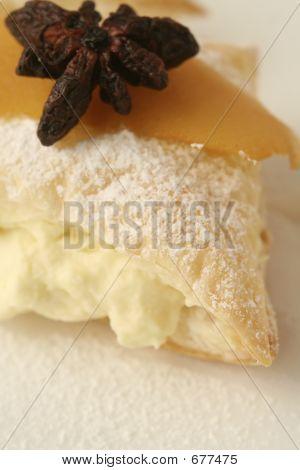 Lemon Dessert Macro Wide