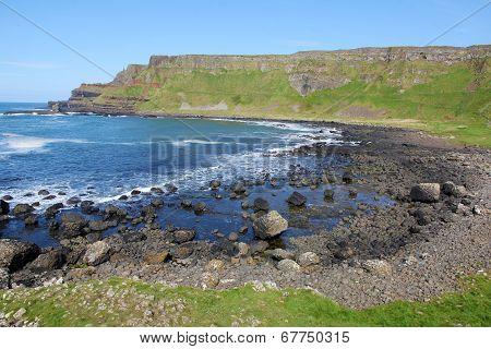 Coastal scenery in North Ireland