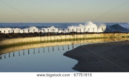 Breakers, Newcastle Beach, Australia