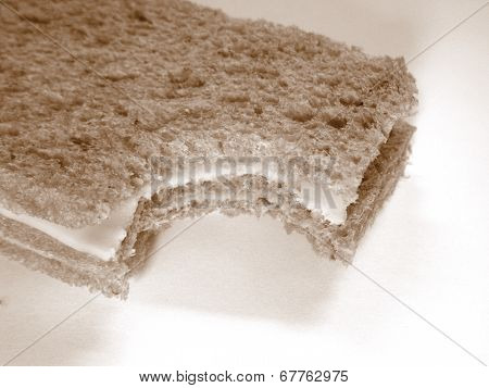 Crumbs sandwich