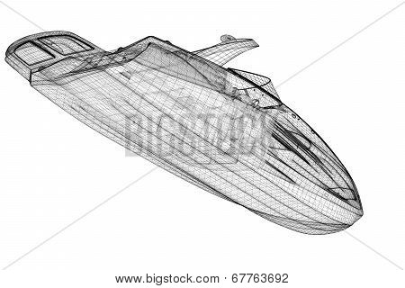 speedboat, Speeding Powerboat