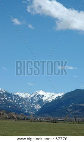 Looking Toward Ouray, Colorado