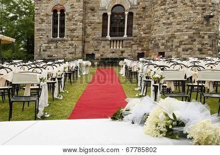 Adventist Outdoor Wedding