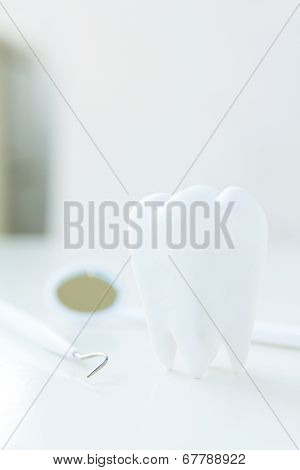concept image of dental hygiene