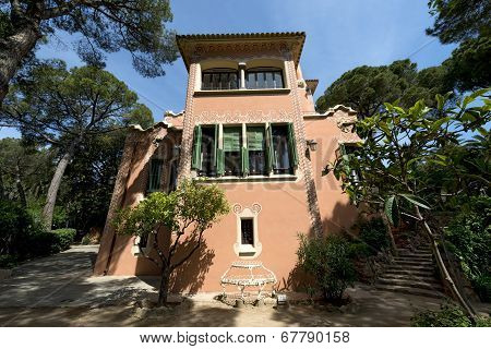 House Of Antoni Gaudi - Barcelona Spain