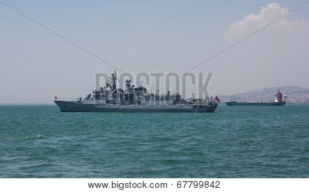 Military Frigate