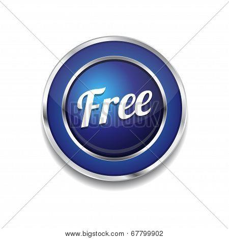 Free Glossy Shiny Circular Vector Button
