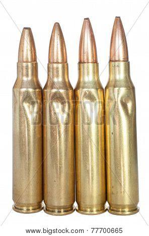 Four Bent Cartridges