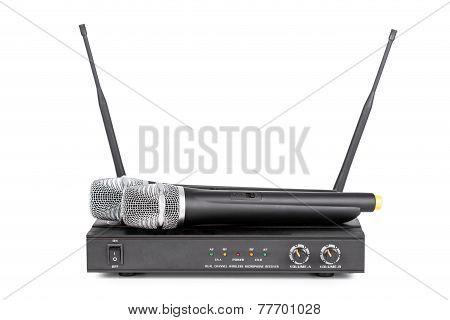 Cordless Microphones And Transmitter System