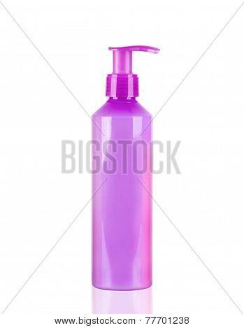 Purple Neon Lotion Bottle