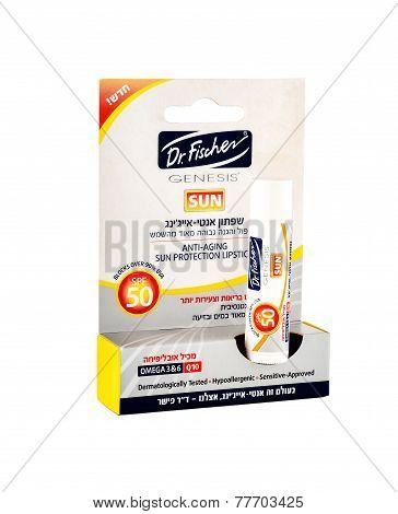 Fischer Anti-ageing Lipstick Spf 50