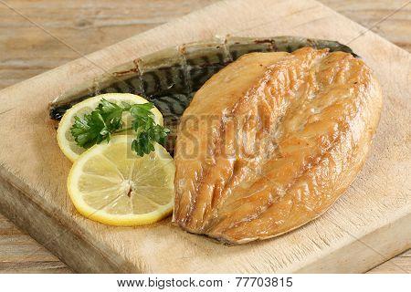 Two Smoked Mackerel