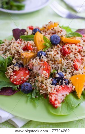 Fruit Quinoa Salad