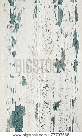 Shabby chic wooden surface (close up)
