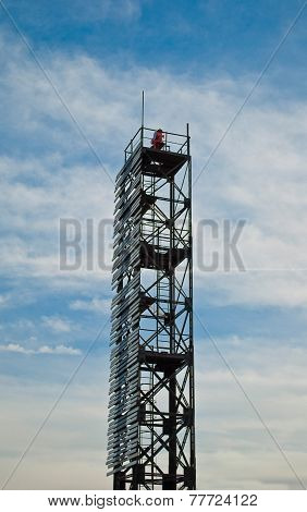 Beacon On A Tower