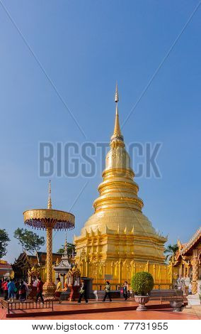 Lampang , Thailand- Nov 24, 2014