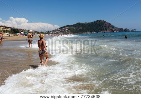 Alanya - the beach of Cleopatra