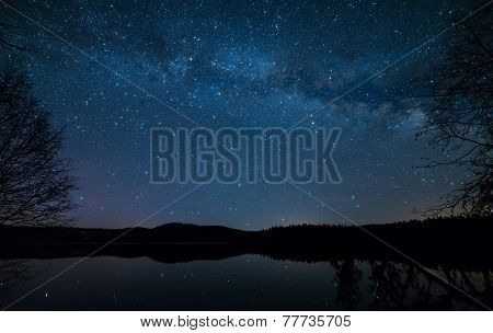 Lakeside Milky Way