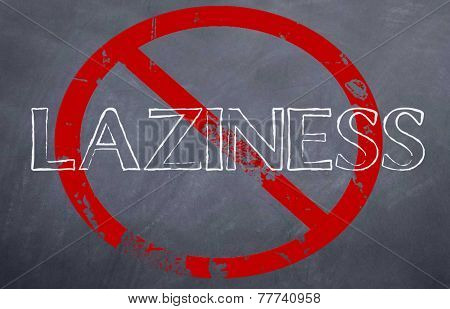stop laziness