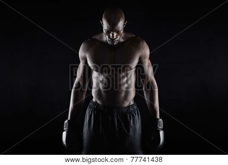 Professional African Boxer