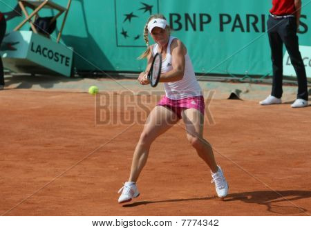 Melanie Oudin (usa) At Roland Garros 2010