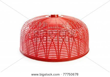 Red Food Cover Isolated
