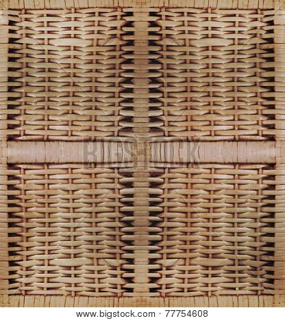 wooden seamless texture of rattan