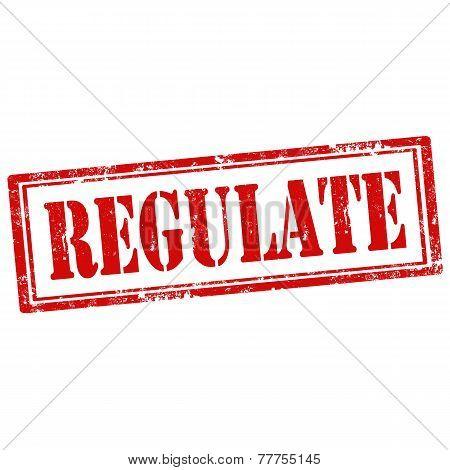 Regulate-stamp