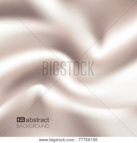 Pearl silk background. Vector illustration.