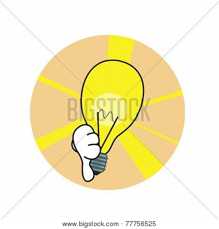 Bad Idea Lamp Icon