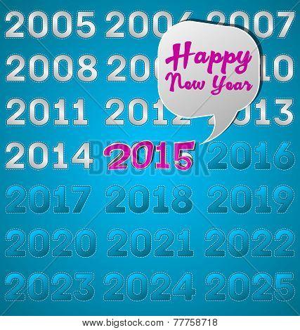 Happy New Year. 2015.