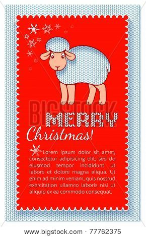 Christmas Layered Red Card