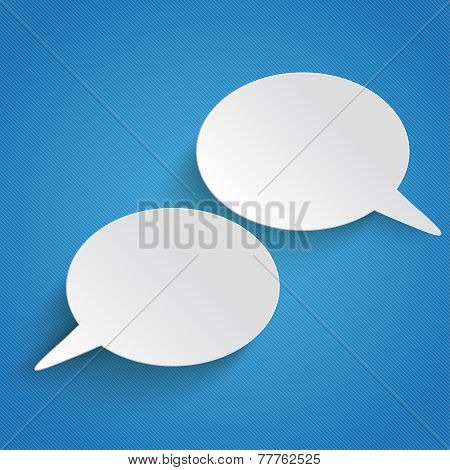 2 Speech Bubbles