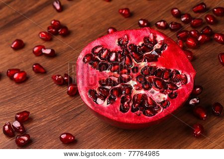 The Half Pomegranate