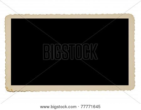 Old Deckle Edge Photo Border