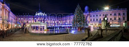 Christmas At Somerset House In London