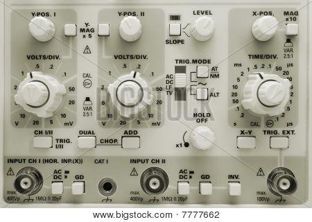 Oscilloscope Knobs