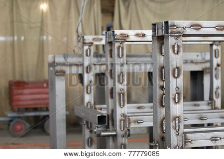 Various Elements Of Metal Structures