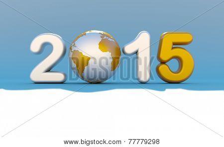 New year eve 2015 logo