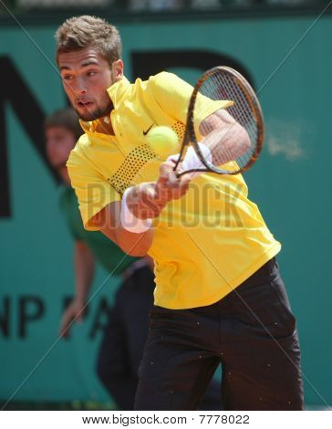 Benoit Paire (fra) At Roland Garros 2010