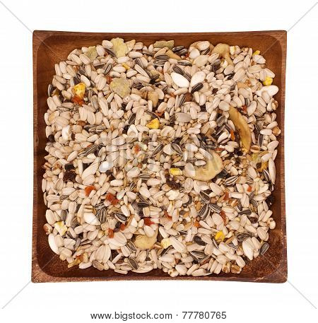 Mixture of seeds for canary